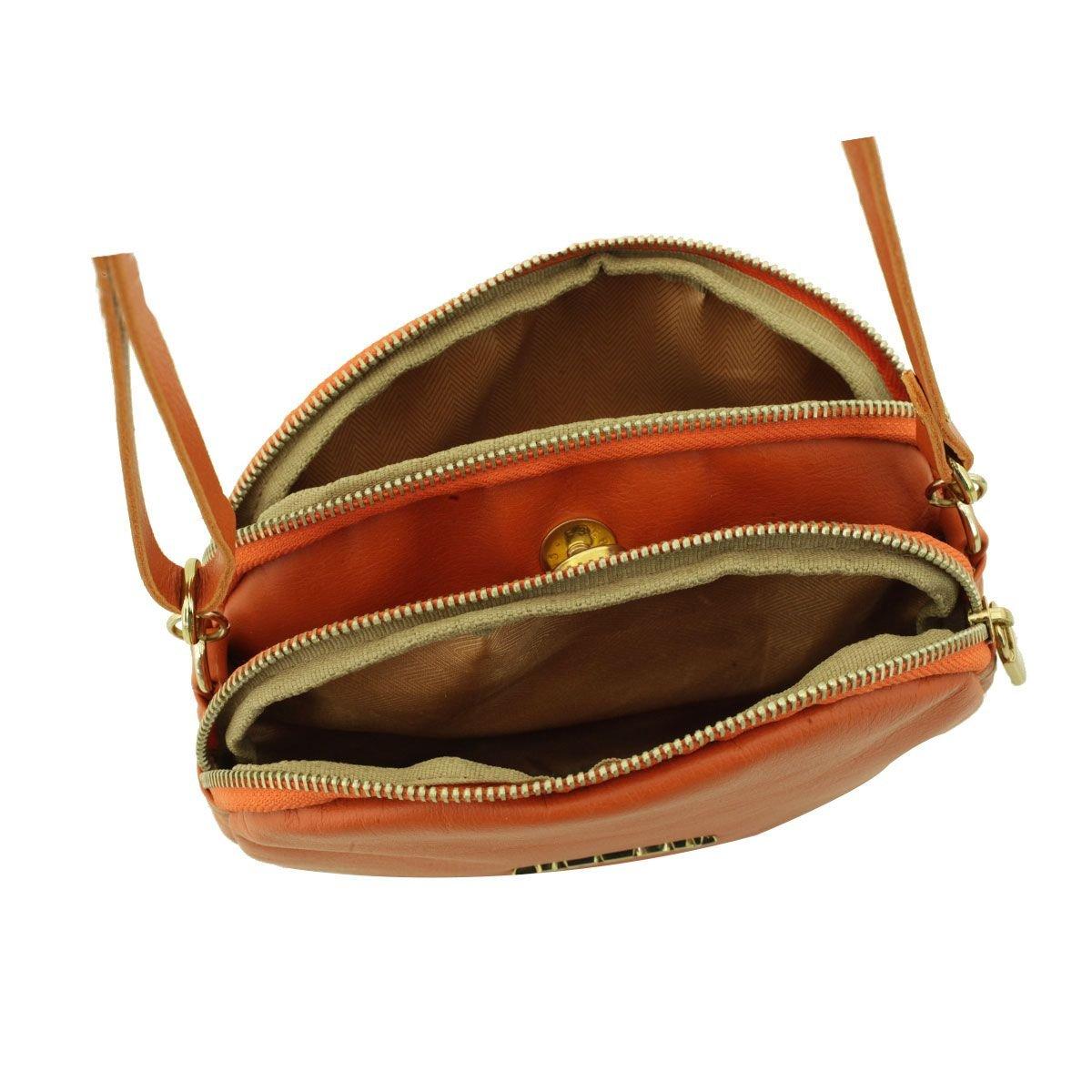 Bolsa Pequena com Divisórias Terra