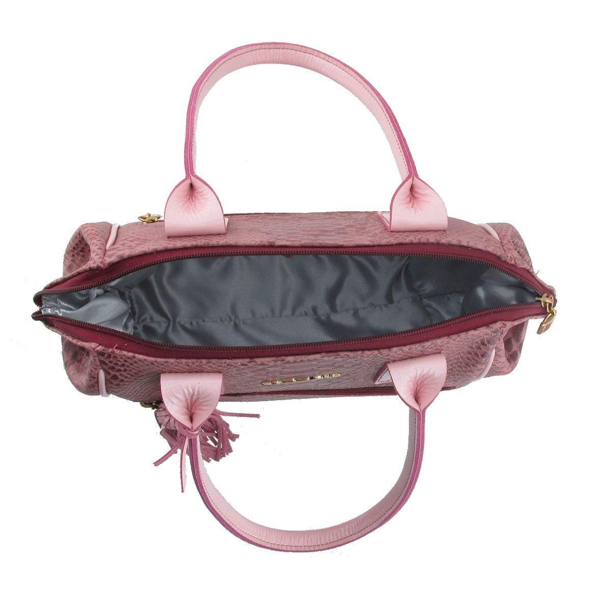 Bolsa Pequena de Ombro Rosa