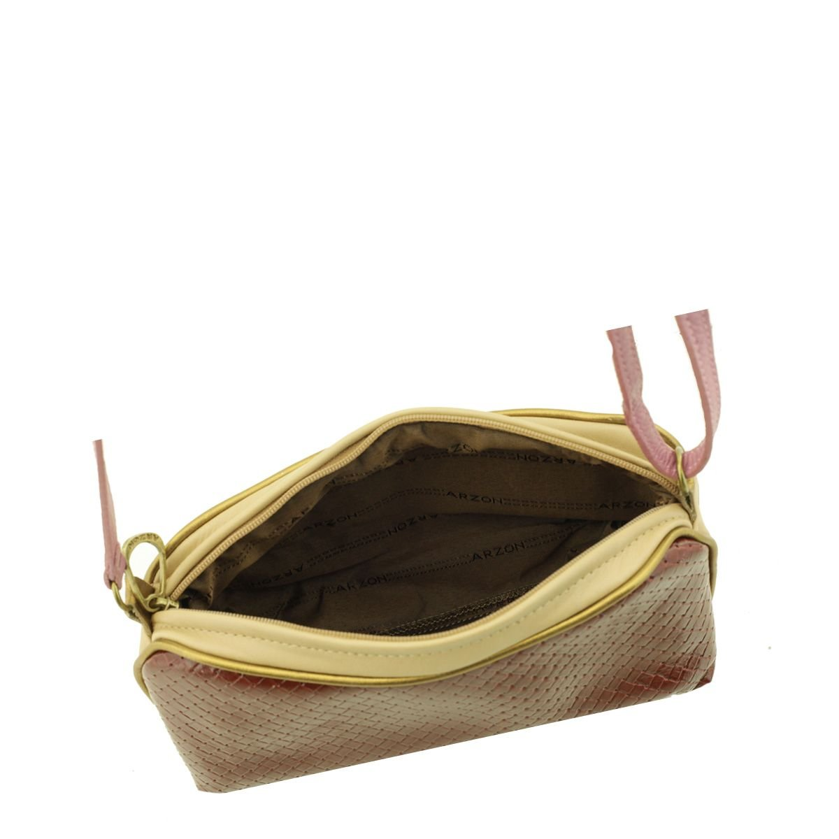 Bolsa Pequena Tiracolo Rosa