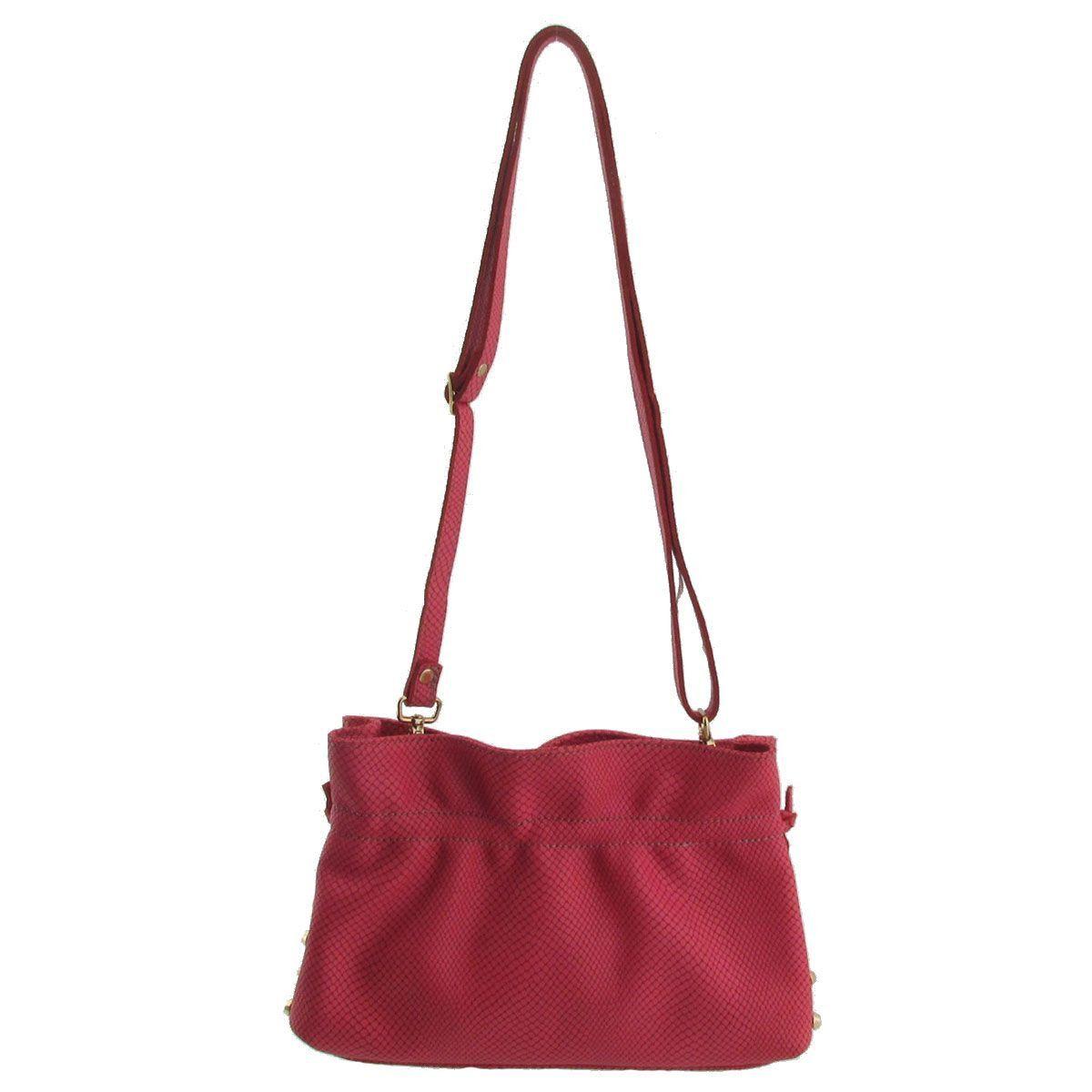 Bolsa Pequena Transversal Rosa