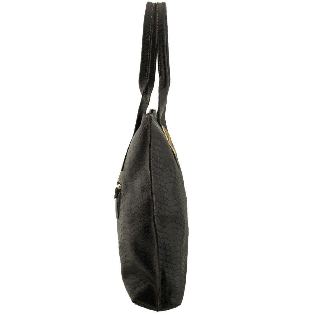 Bolsa em Couro Sacola Black