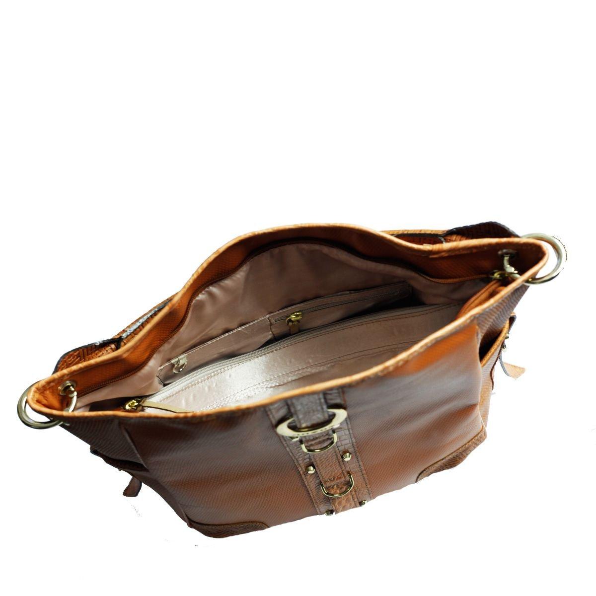 Bolsa Saco Feminina Caramelo