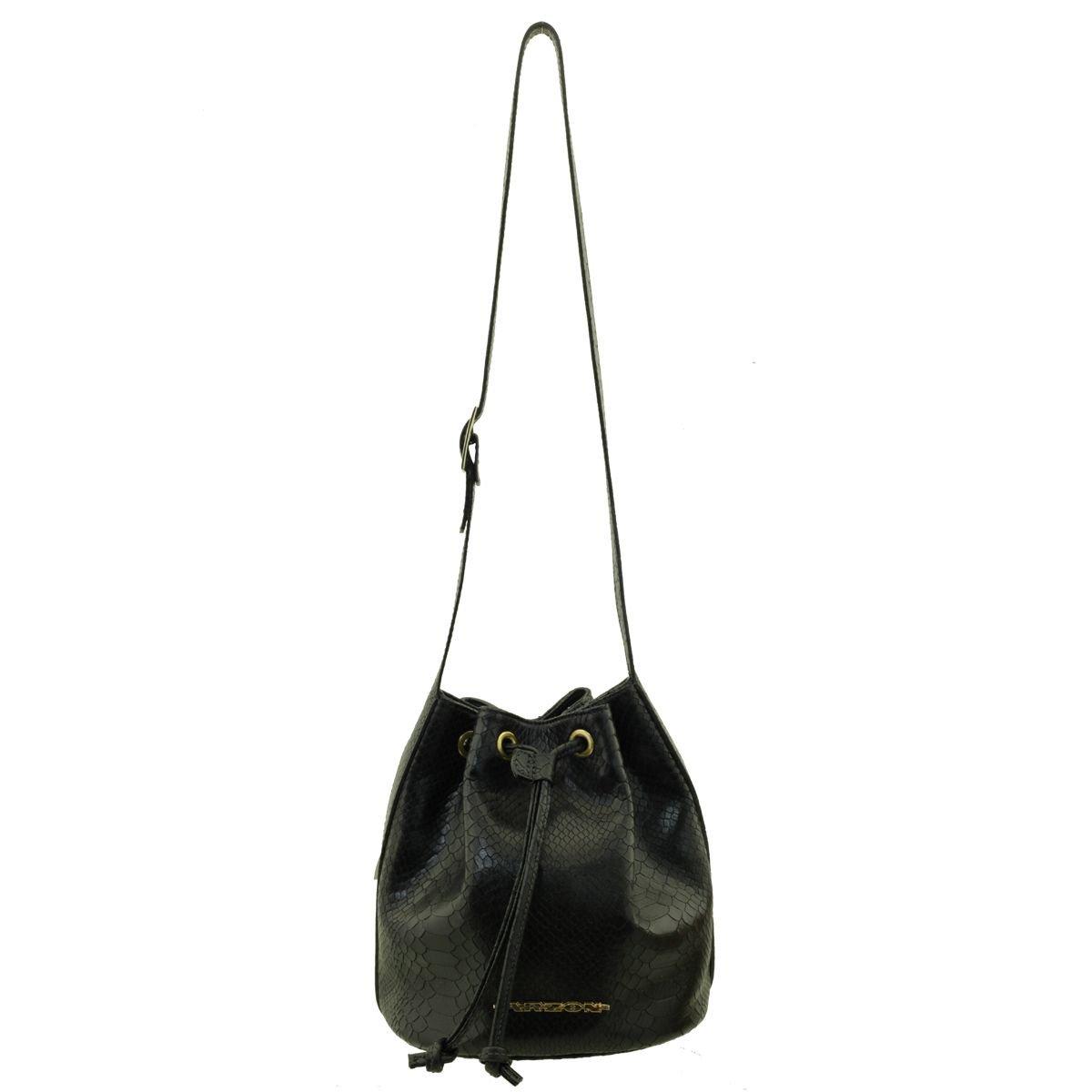 Bolsa Saco Pequena Black