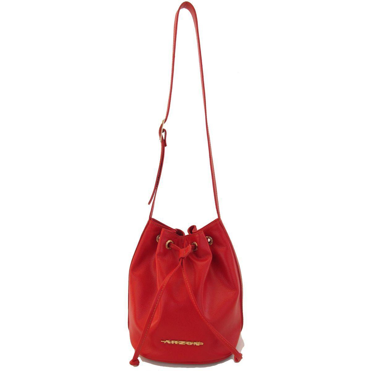 Bolsa Saco Pequena Vermelha