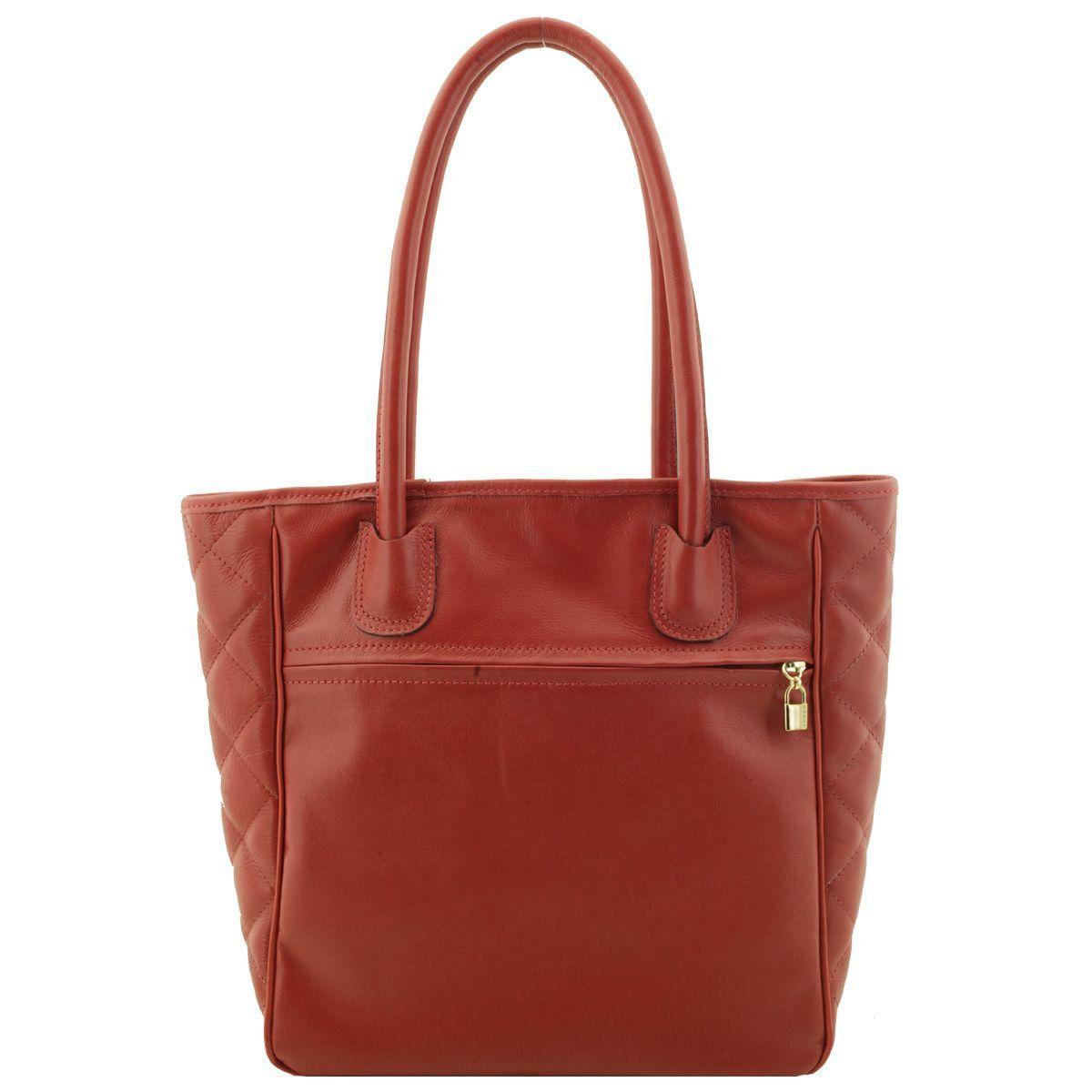 Bolsa Sacola Feminina Vermelha