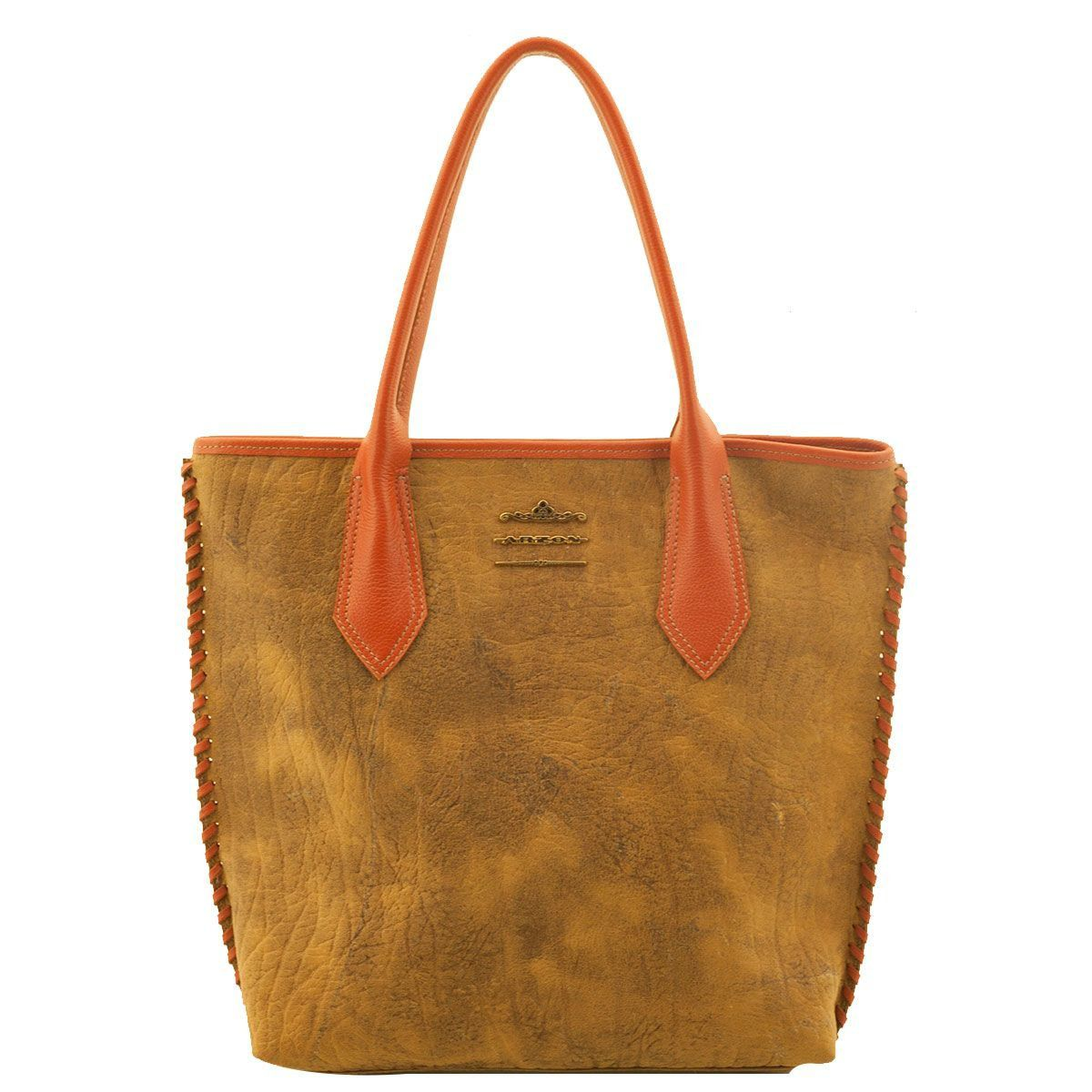 Bolsa Shopping Bag Camel