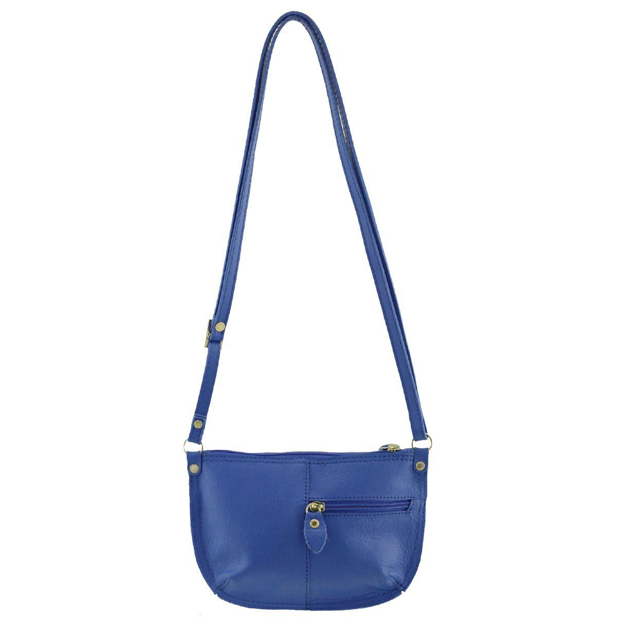 Bolsa Transversal Pequena Azul