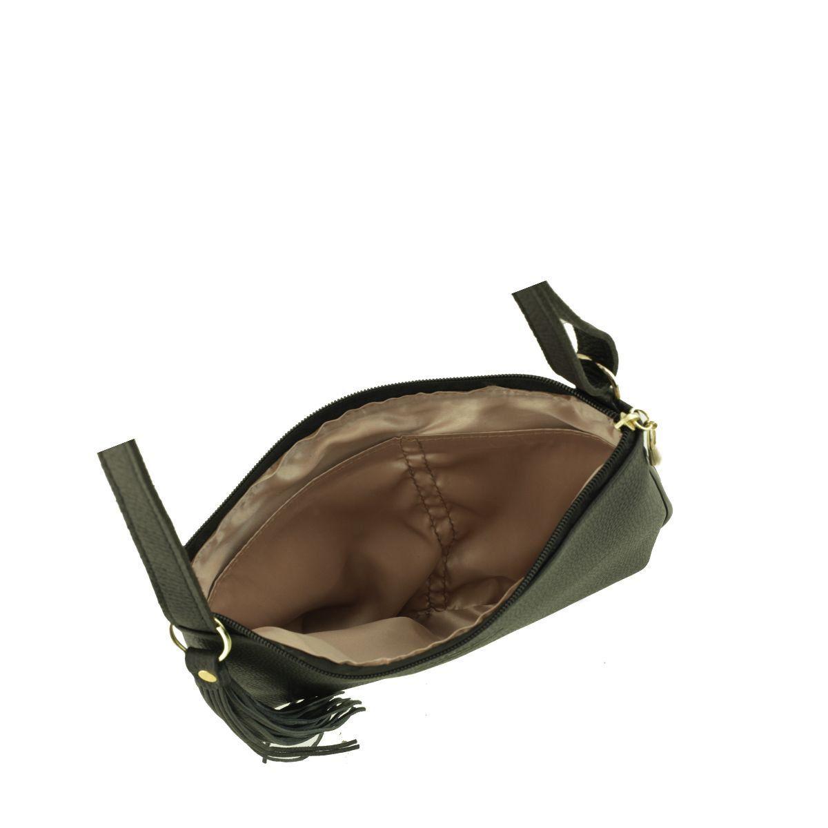 Bolsa Transversal Pequena Preto Fosco
