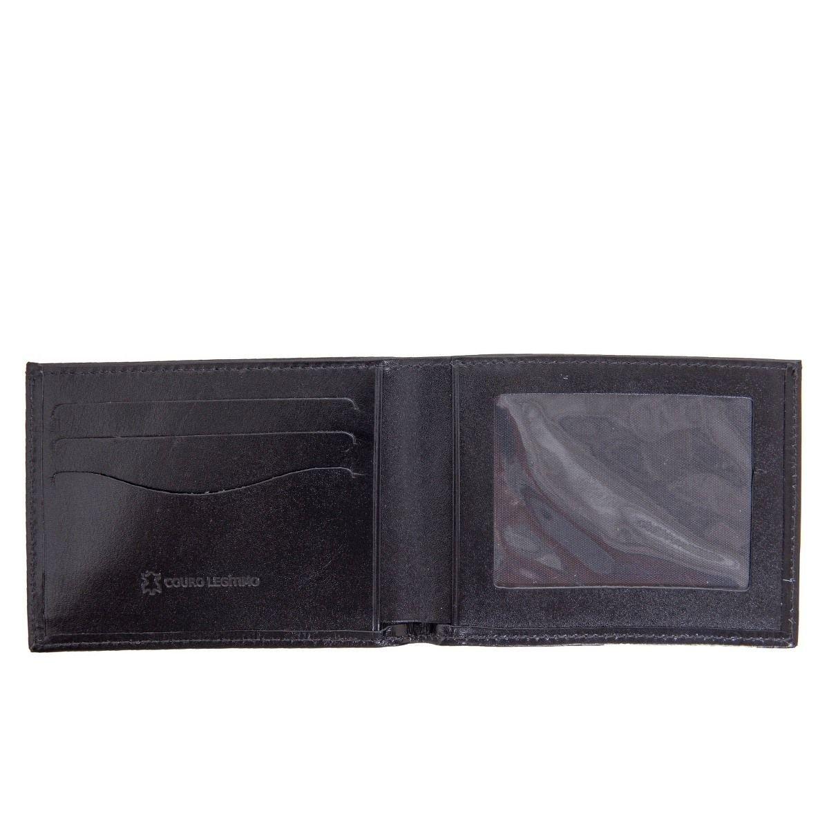 Carteira Masculina para CNH Black