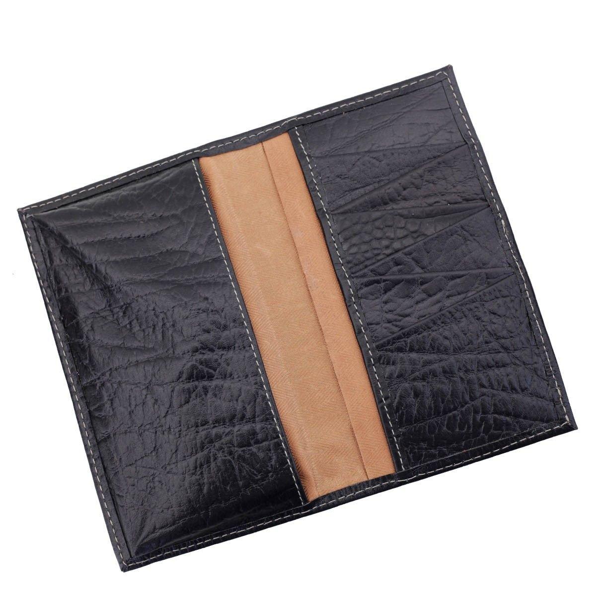 Carteira Porta-Celular em Couro Black