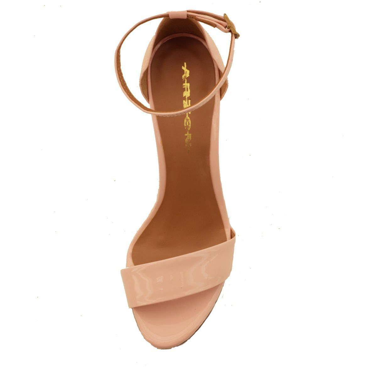 Sandália com Salto Fino Rosê