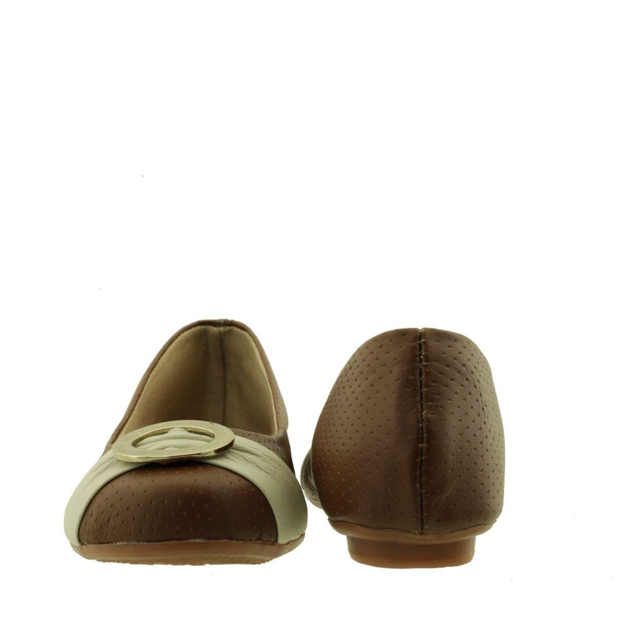 Sapatilha Infantil com Fivela Chocolate
