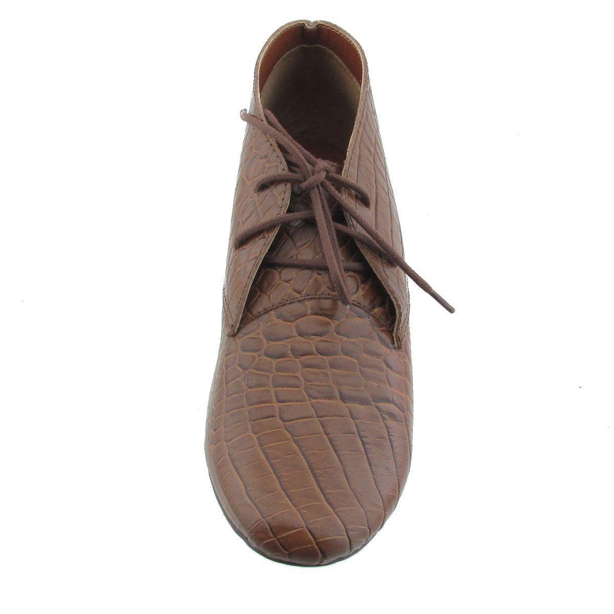 Sapato Oxford em Couro