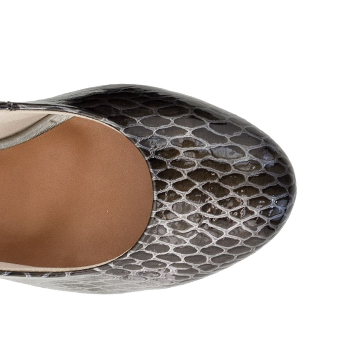 Sapato Scarpin Salto Médio Verde Militar