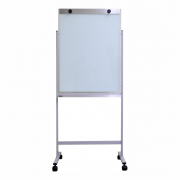 Flip Chart em Vidro Não Magnético com Suporte Fixo em Aço - Clace 1 UN