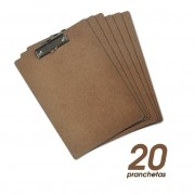 Prancheta A4 em Eucatex - Clace 20 UN