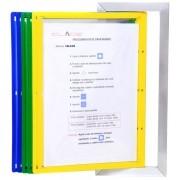 Suporte em Alumínio para Pasta Plástica A4  para Controle e Procedimento - Clace 1 UN