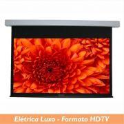 Tela Elétrica Luxo no Formato HDTV 16:9 - Clace 1 UN