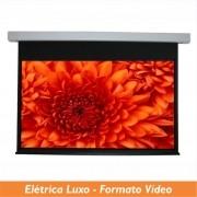 Tela Elétrica Luxo no Formato Vídeo 4:3 - Clace 1 UN