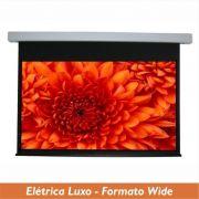 Tela Elétrica Luxo no Formato Wide 16:10 - Clace 1 UN