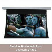 Tela Elétrica Tensionada Luxo no Formato HDTV 16:9 - Clace 1 UN