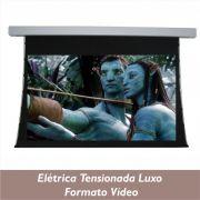 Tela Elétrica Tensionada Luxo no Formato Vídeo 4:3 - Clace 1 UN
