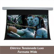 Tela Elétrica Tensionada Luxo no Formato Wide 16:10 - Clace 1 UN