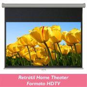 Tela Retrátil Home Theater no Formato HDTV 16:9 - Clace 1 UN
