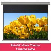 Tela Retrátil Home Theater no Formato Vídeo 4:3 - Clace 1 UN