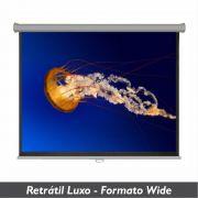 Tela Retrátil Luxo no Formato Wide 16:10 - Clace 1 UN
