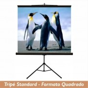 Tela Tripé Standard no Formato Quadrado - Clace 1 UN