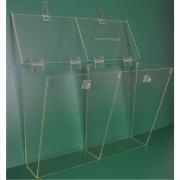 Caixa Dupla (Caixa e Urna) em Acrílico - Clace 1 UN