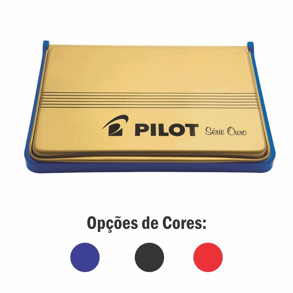 Almofada para Carimbo Série Ouro Nº 3 - Pilot CX 1 UN