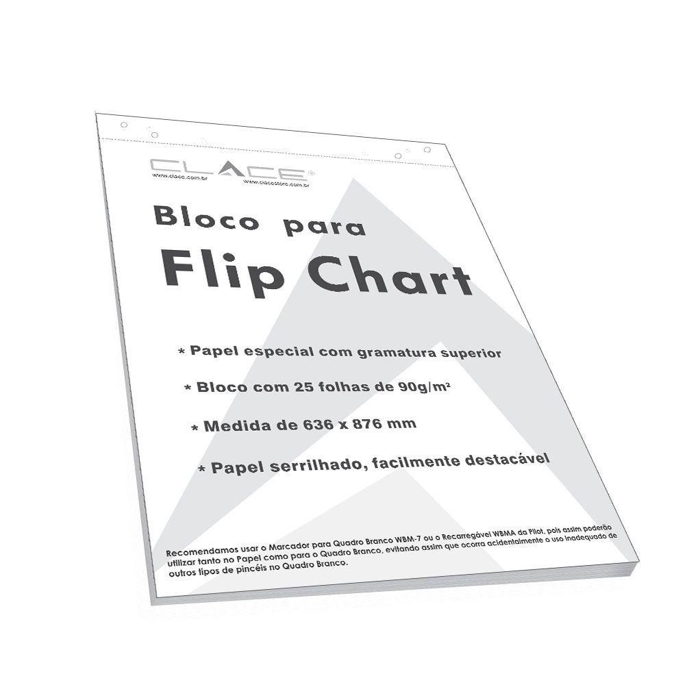 Bloco de Papel para Flip Chart - Clace 1 UN