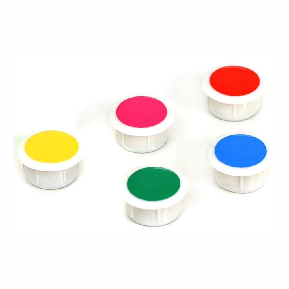 Botão Magnético (Imã) - SuperNeo Colorido - Clace PT 10 UN