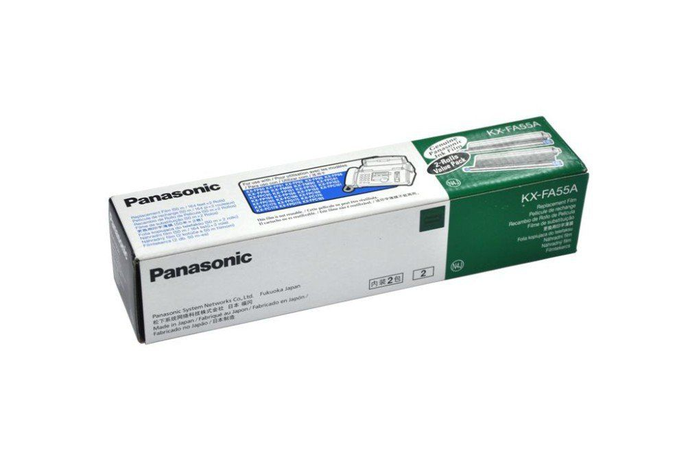 Cartucho de filme para fax e Panaboard KX-FA55A - Panasonic CX 2 UN