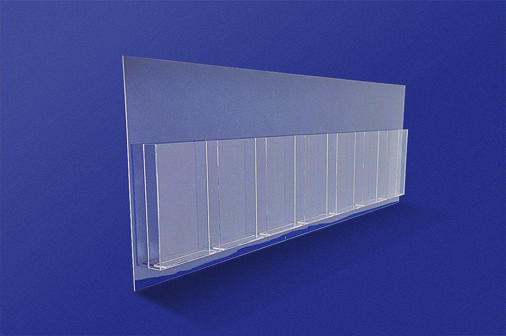 Dispenser em Acrílico para Folders ou Folhetos com 7 Divisões - Clace 1 UN