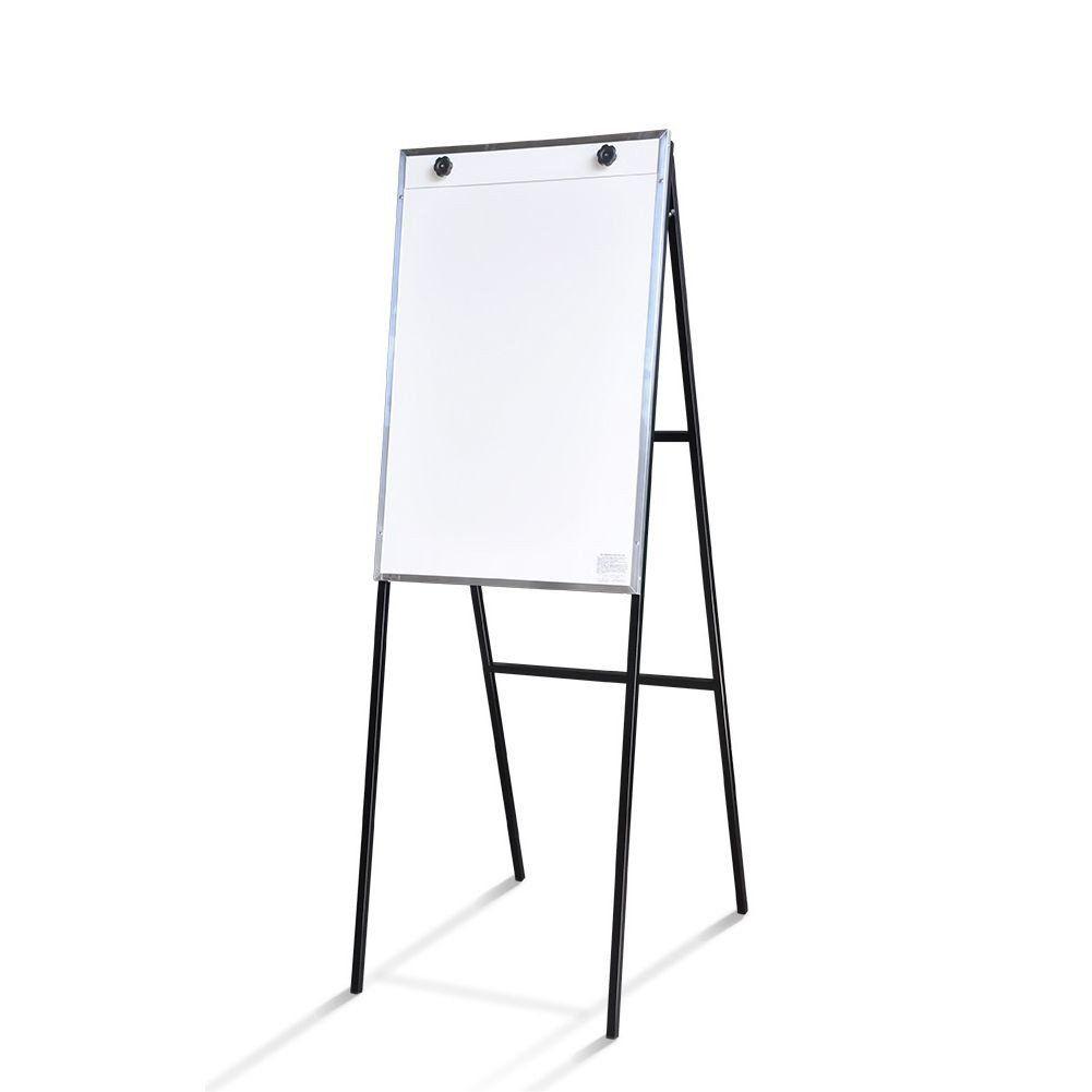 Flip Chart Dobrável Não Magnético com Suporte em Aço - Clace 1 UN
