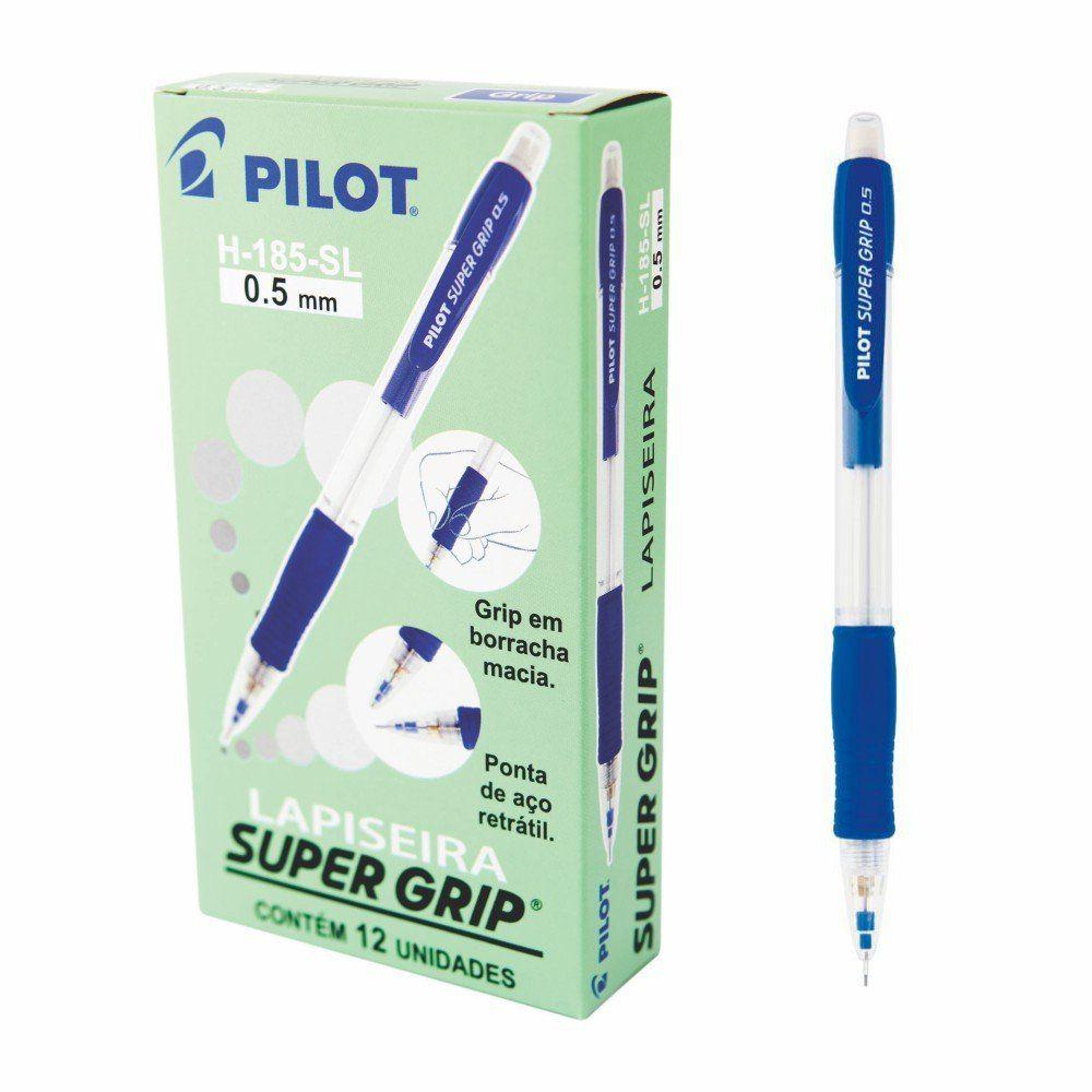 Lapiseira Super Grip 0.5 mm - Pilot CX 12 UN
