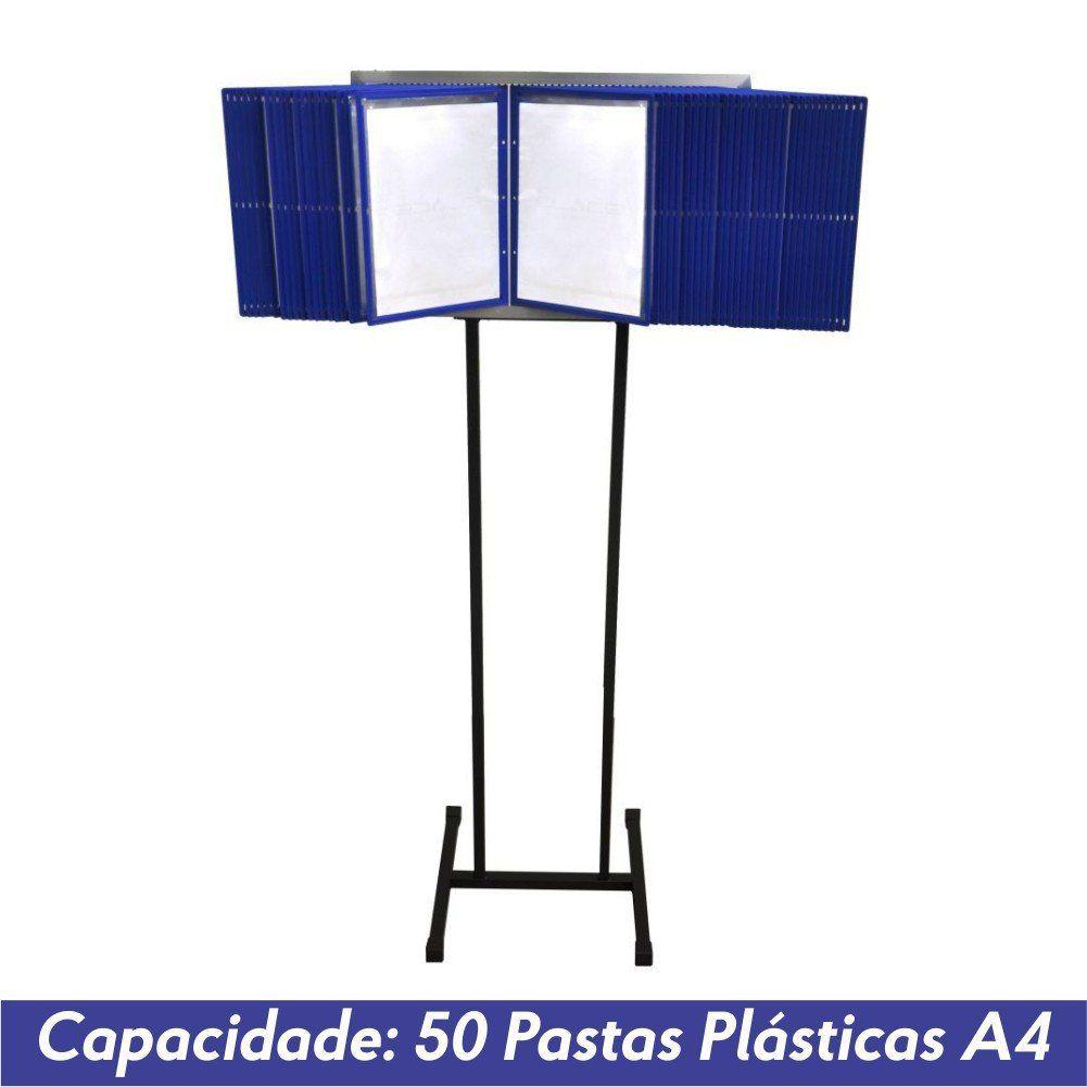 Pedestal Fixo para 50 Pastas Plásticas A4 - Clace 1 UN
