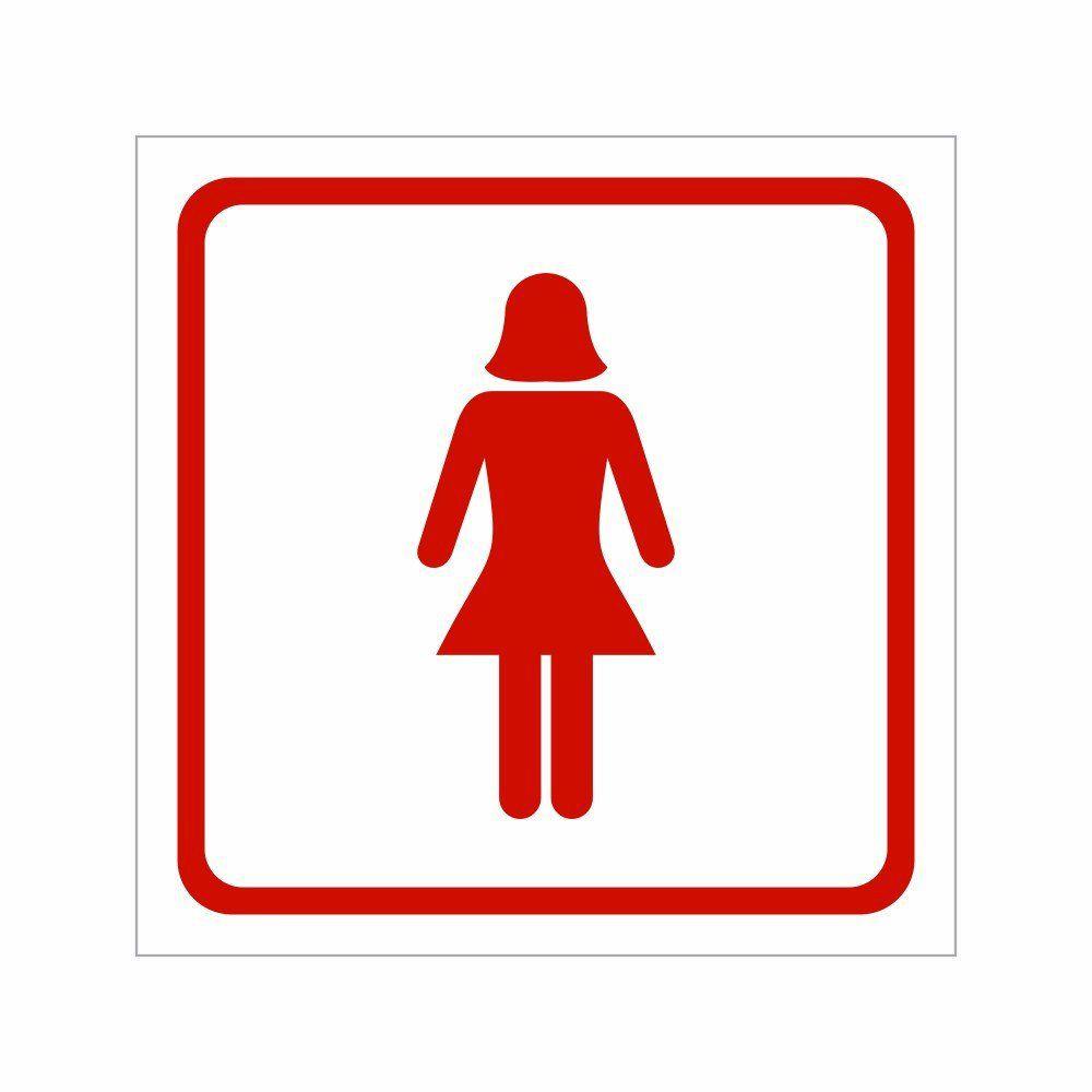 Placa Sanitário Feminino - Clace 1 UN