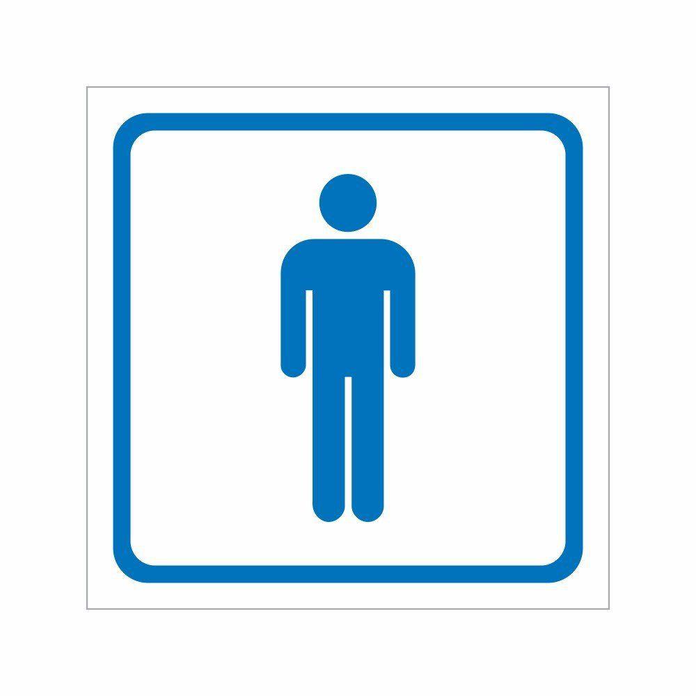Placa Sanitário Masculino - Clace 1 UN