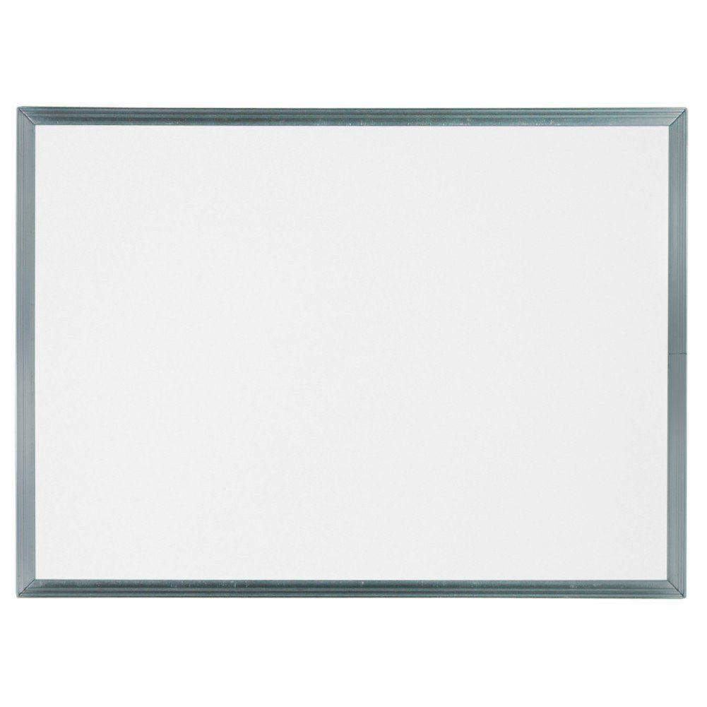Quadro Branco Não Magnético Infantil 55 x 40 cm  (L x A) (moldura em alumínio) - Clace 1 UN