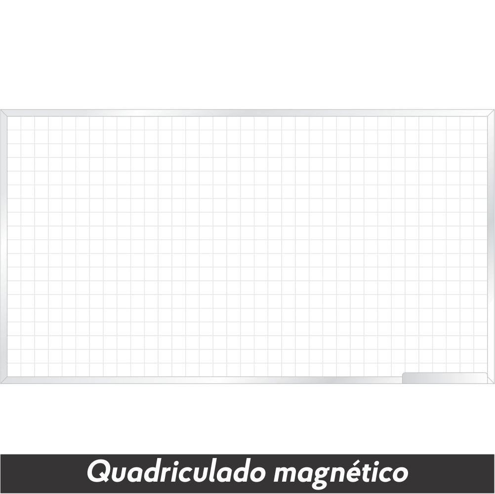 Quadro Branco Quadriculado Magnético - Clace 1 UN