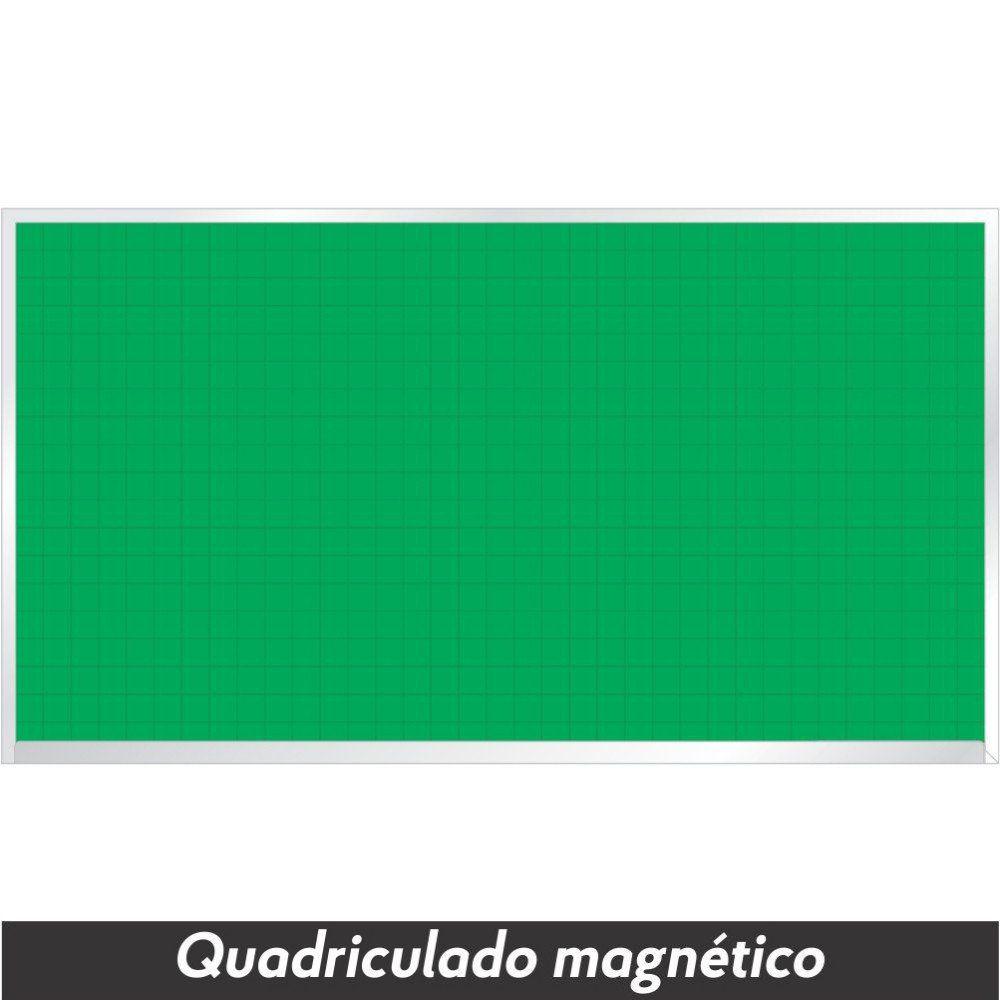 Quadro Verde Quadriculado Magnético - Clace 1 UN