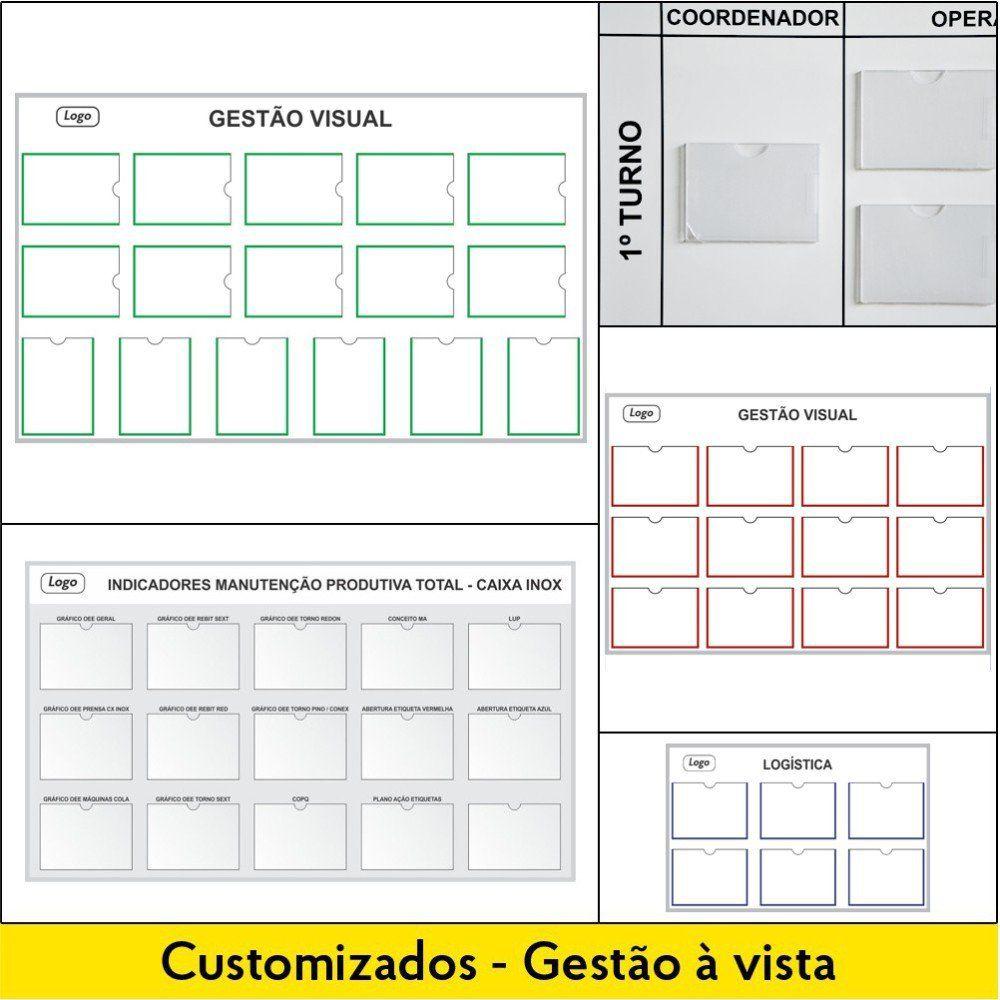 Quadros de Gestão Visual - Customizados