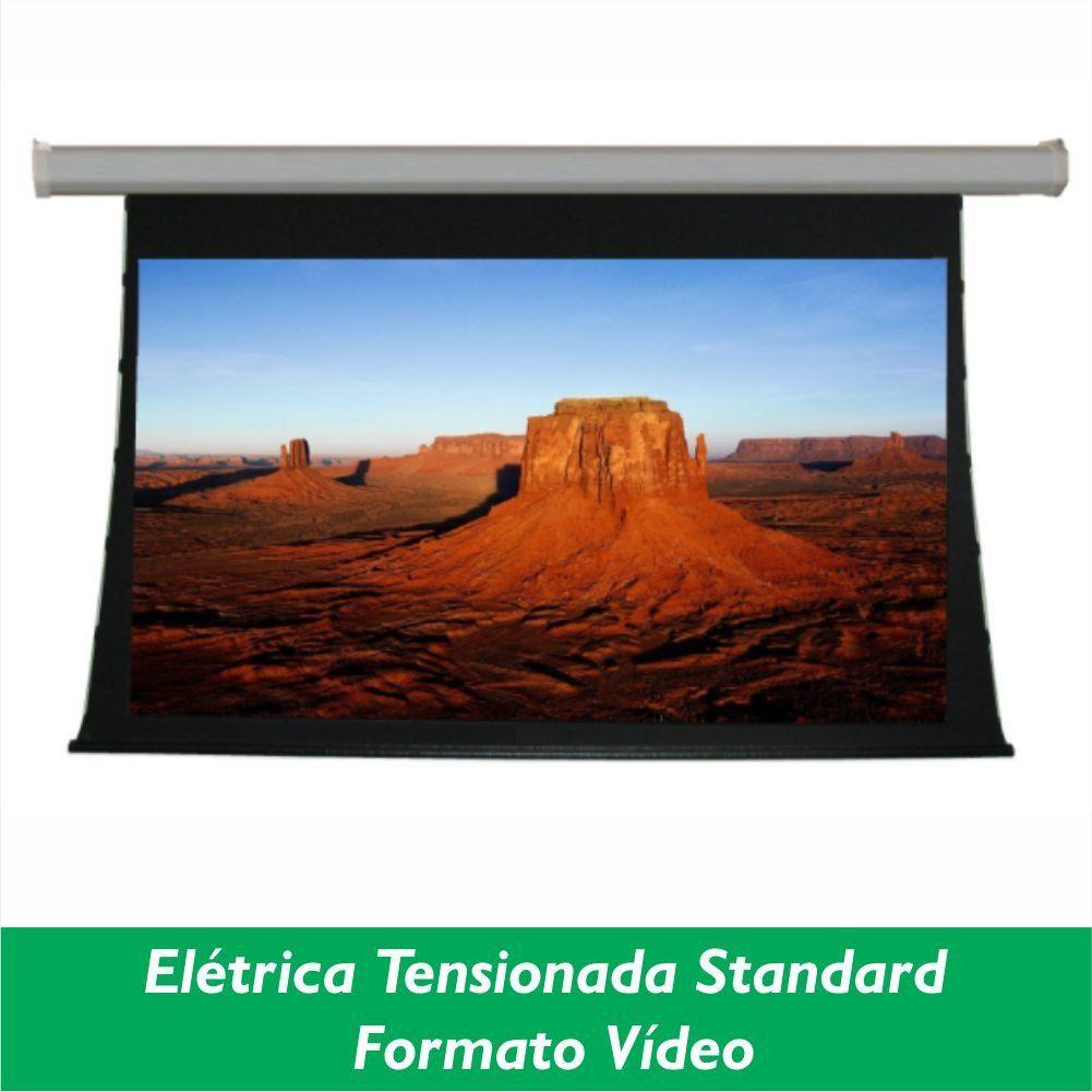 Tela Elétrica Tensionada Standard no Formato Vídeo 4:3 - Clace 1 UN