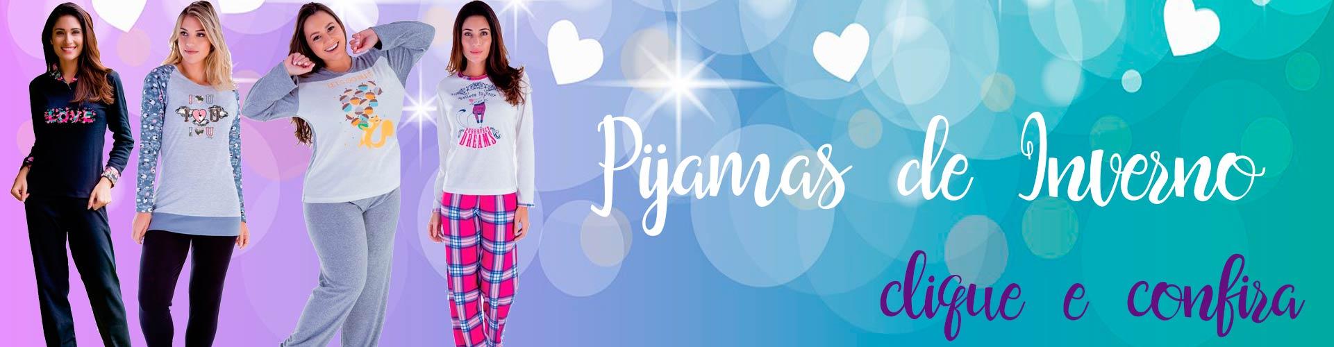 pijamas de inverno