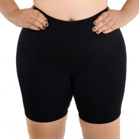 Bermuda feminina plus size fitness Selene