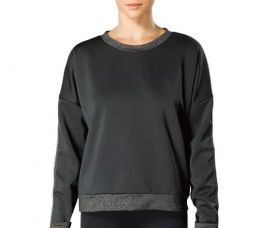 Blusa feminina manga longa para o inverno flanelada fitness Lupo .